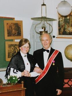 Gösta Parnfelt och Agneta Johnsson