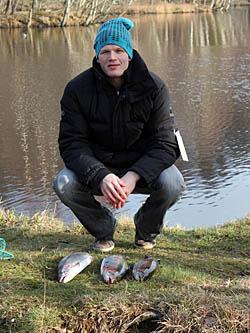 Anders Stålberg - Fiskepremiären i Tyringe