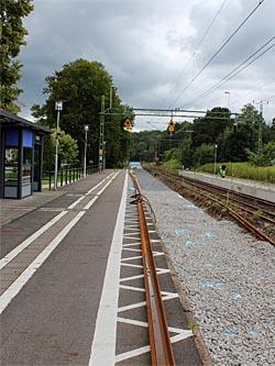 Järnvägstationen i Tyringe