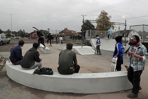 Skateboardrampen  i Tyringe