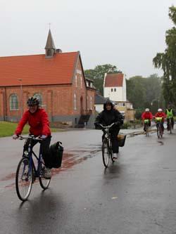 Kyrkrundan på cykel i Tyringe
