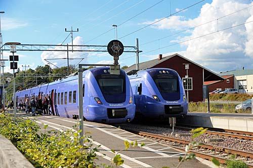 Tågtrafiken på Skånebanan igen