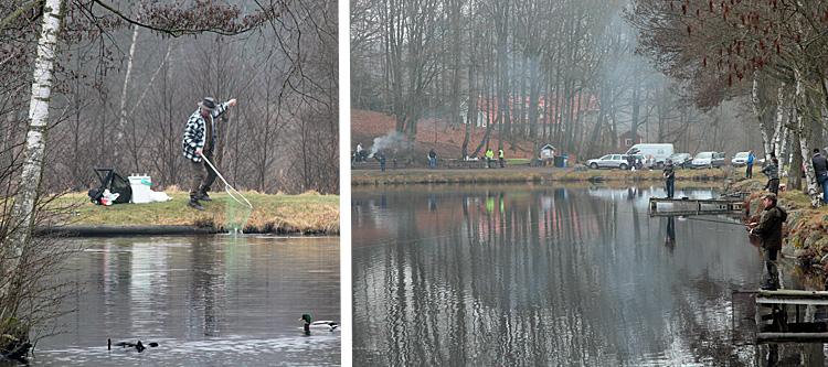 Fiskepremiären i Tyringe - Foto Bert Wilnerzon