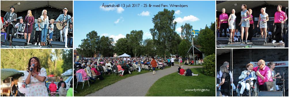Åparkskvällar med Familjen Wrambjers, Foto Bert Wilnerzon