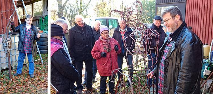 SPF besök hos Lars-Åke Blom i V Torup - Foto SPF