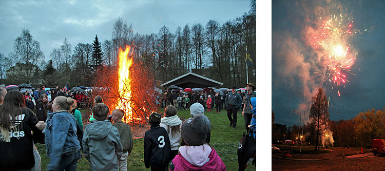 Tyringe Valborgsfirande - foto Bert Wilnerzon