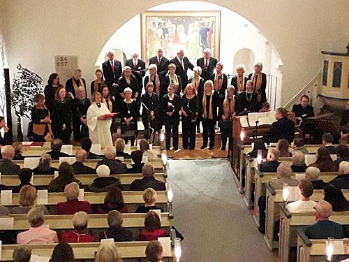 Foto Marianne Gravlund, Årets Julkonsert i Tyringe kyrka