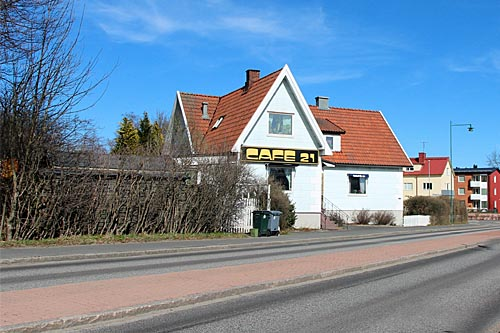 Cafe21 i Tyringe - foto Bert Wilnerzon
