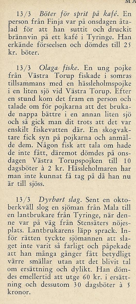 Tyringeboken 1952