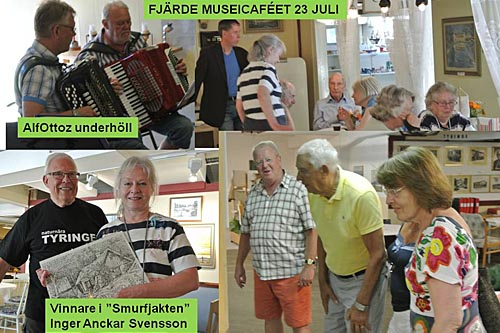 """SMURFJAKT"" UNDER FJÄRDE MUSEICAFÉET"