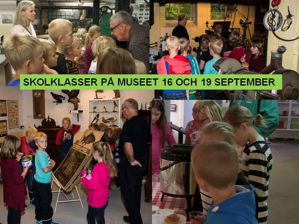 SKOLBESÖK PÅ MUSEET i Tyringe