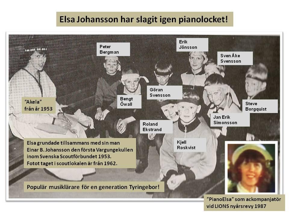 Foto Göthe Persson, Elsa Johansson