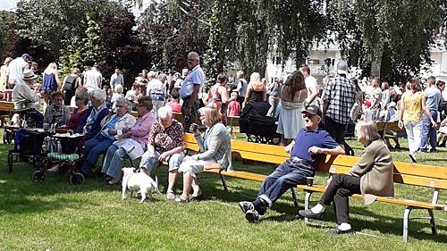 Midsommarafton i Åparken i Tyringe -  foto Göthe Persson