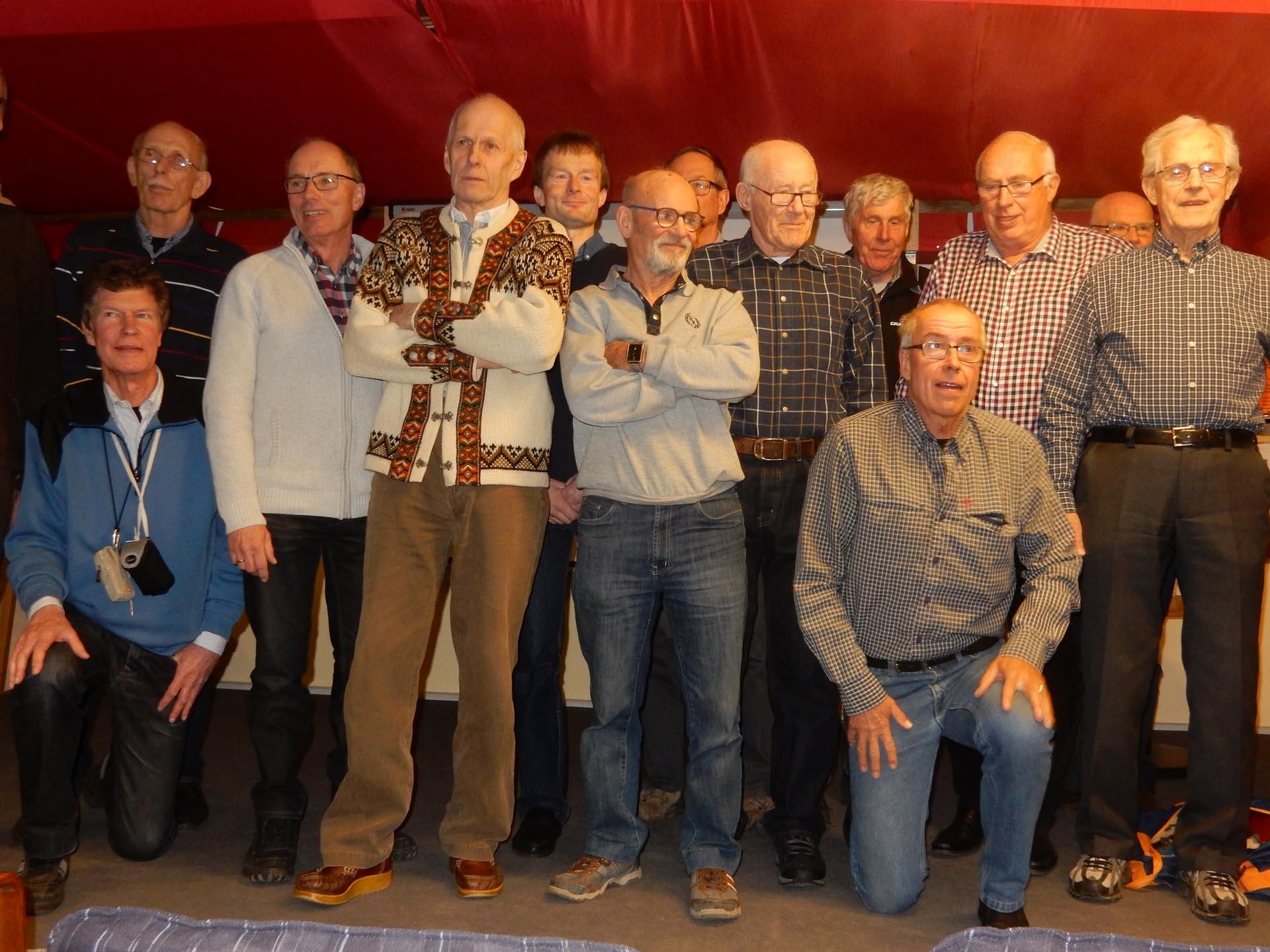 Foto Göthe Persson, Några Vasaloppsveteraner i Tyringe