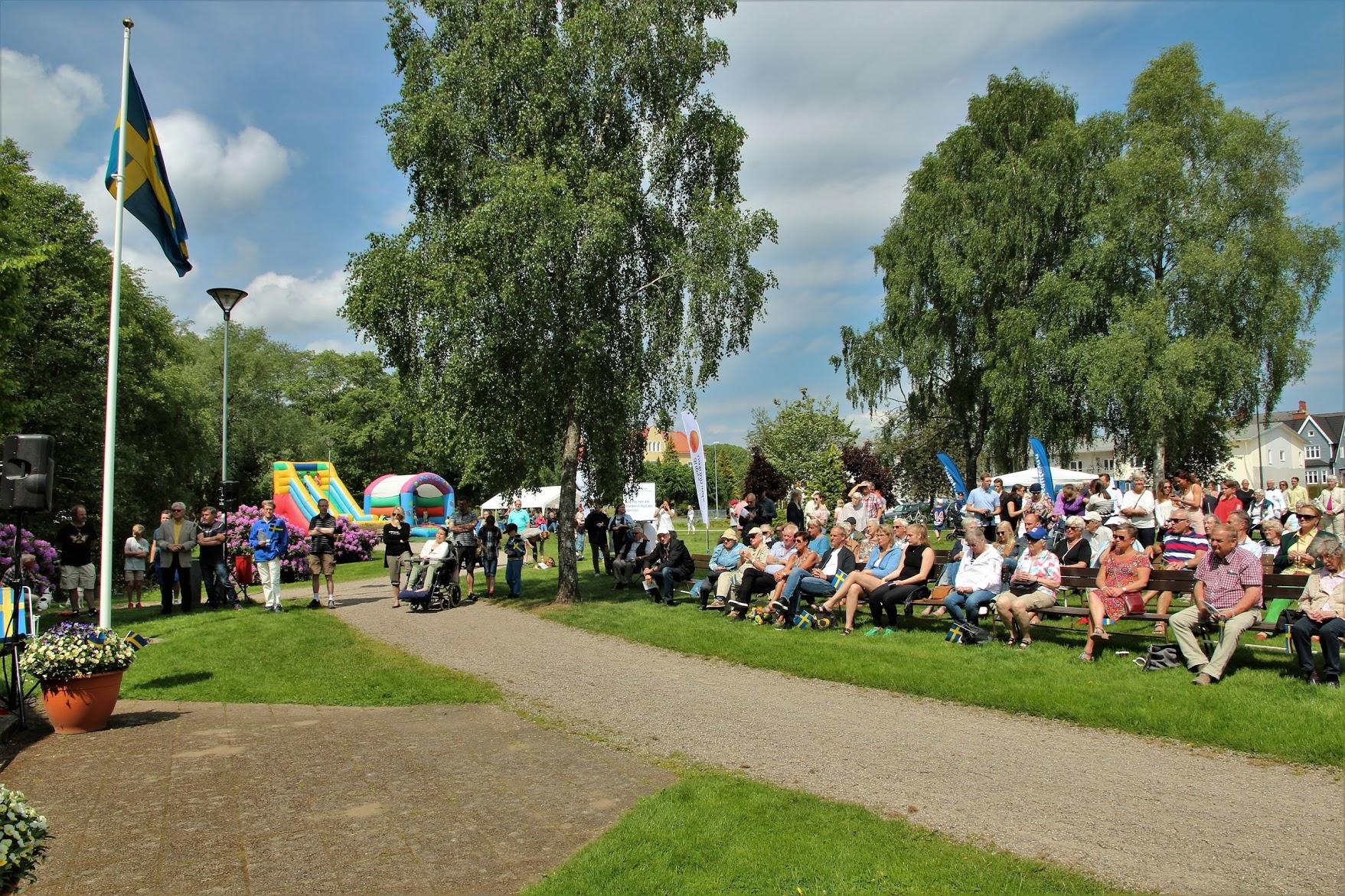 Nationaldagen i Tyringe - Arkiv foto Bert Wilnerzon