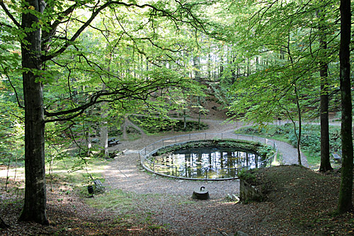 Radiumkällan i Tyringe   - foto Bert Wilnerzon