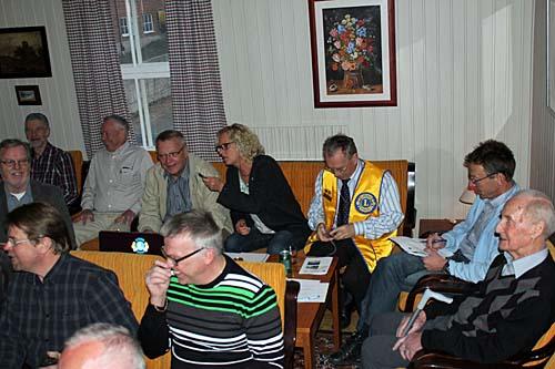 Lions Greve på besök i Tyringe
